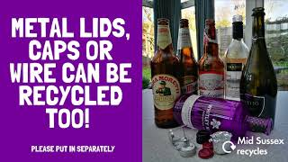 It's the party season... if you're having a get together don't forget to recycle your empties. Ju...