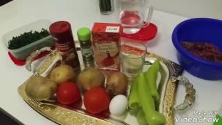 Кёфте с картошкой по турецки / Котлеты в духовке по турецки