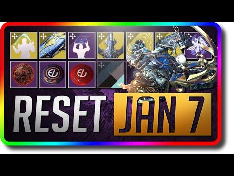Destiny 2 - Devil's Ruin New Exotic Sidearm Reset (January 7 Season Of The Dawn Weekly Reset)