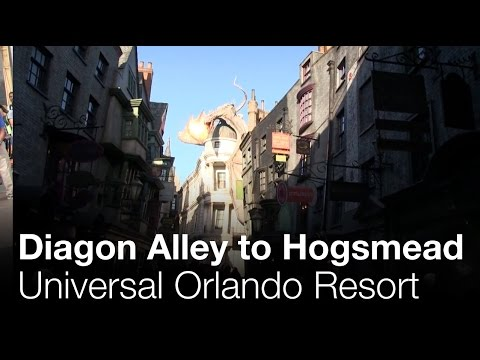 Diagon Alley to Hogsmead - Universal Orlando Resort
