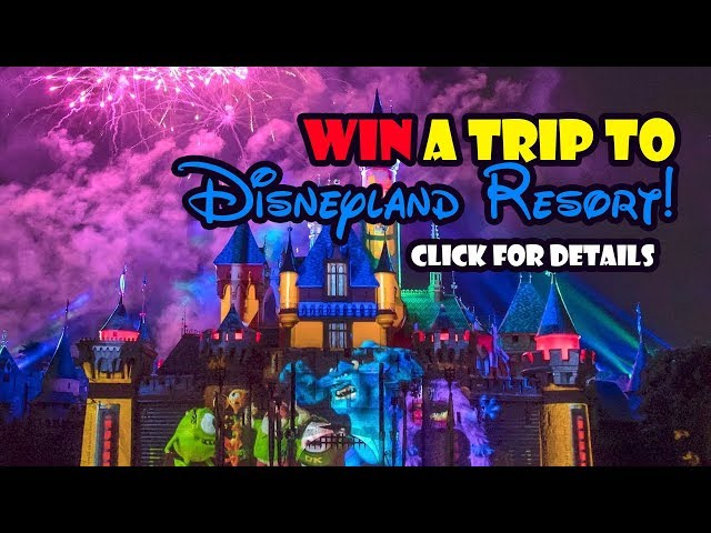 WALT DISNEY WORLD and DISNEYLAND Giveaway Contest Winner Announcement!