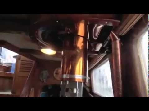 Kimberly GASIFIER RV and Marine Wood Stove on board a beautiful 51 Foot  Formosa Sailboat Part 1