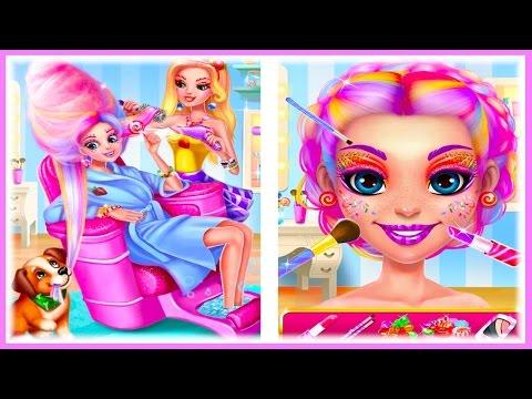 ❤️Игры макияж для девочек | Делаем макияж в игре Candy MakeUp💄💄💄