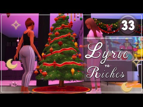 The Sims 4 🎵 Lyric to Riches 🎵#33 Oh Christmas Tree thumbnail
