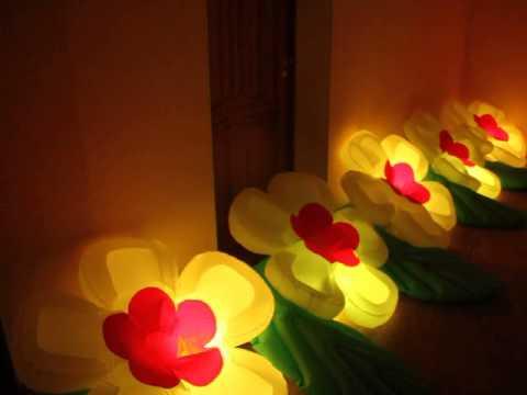 Пневмоцветы, распукающиеся цветы, #Пневмоцветы. Светящиеся цветы.  Модель  Яблоневый цвет.