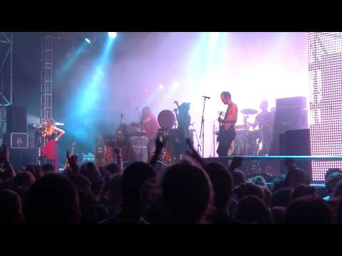 Crystal Fighters - Intro + Solar System (live) @ Sziget Festival 2012, Budapest, Hungary, 9.08.2012
