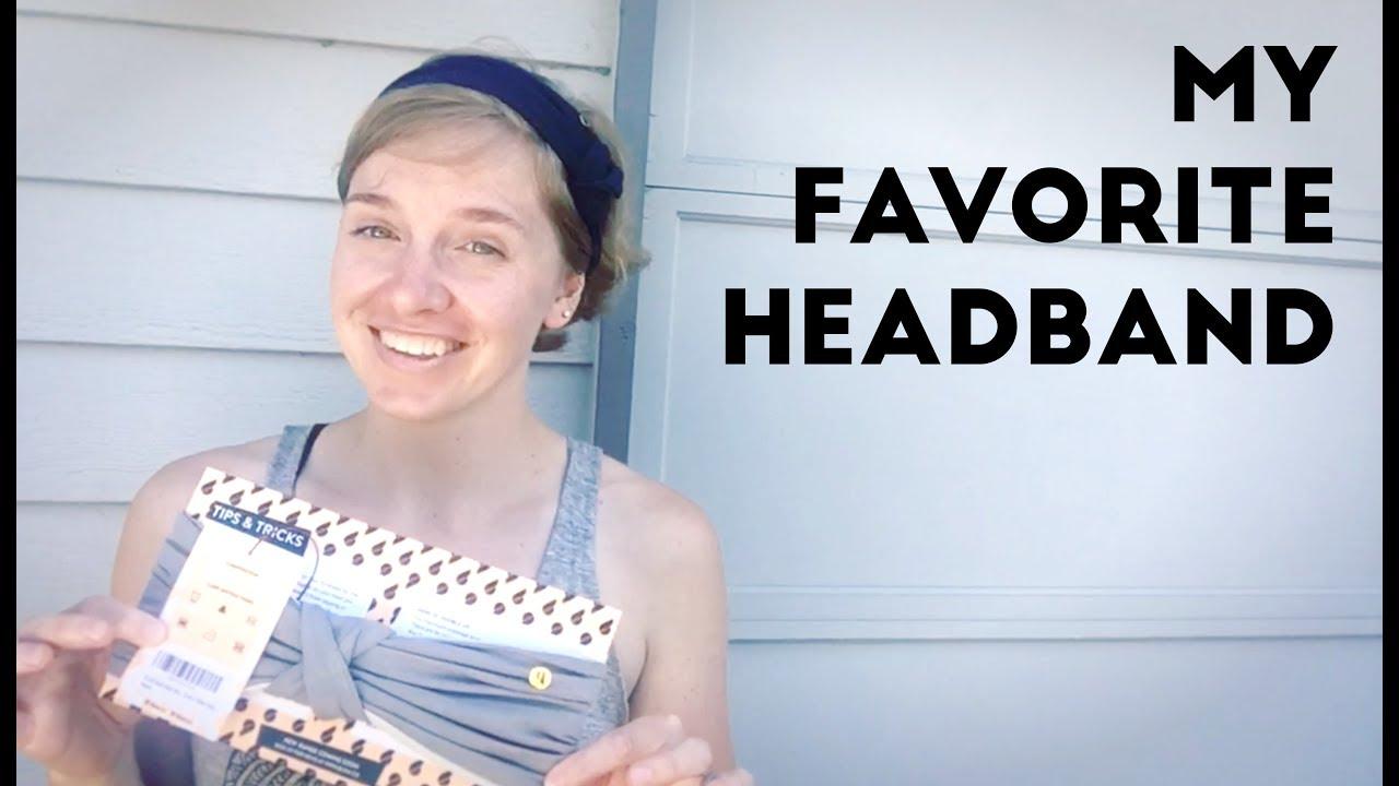 BLOM Multi Style Headband for Sports or Fashion 0ead4253795