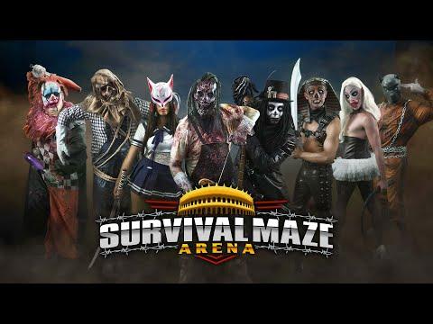Survival Maze Battle Royale | Nueva haunted house Horrorland 2019