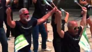 CenturyLink Utah Employees Prism TV Flash Mob Dance, June 4, 2015