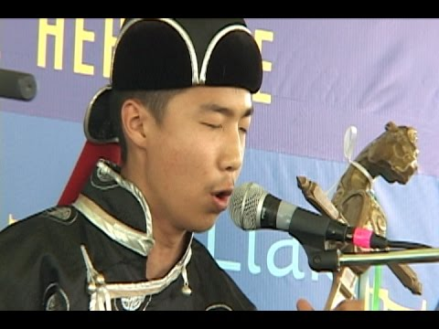 Tuva, small Russian Republic near Mongolia: Culture, throat singing, horse-head fiddle playing.