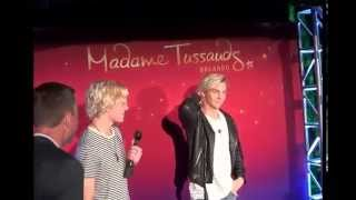 Ross Lynch unveils his wax figure at Madame Tussauds Orlando May 21, 2015