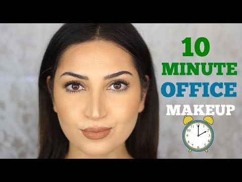 Office Makeup Tutorial Under 10 minutes