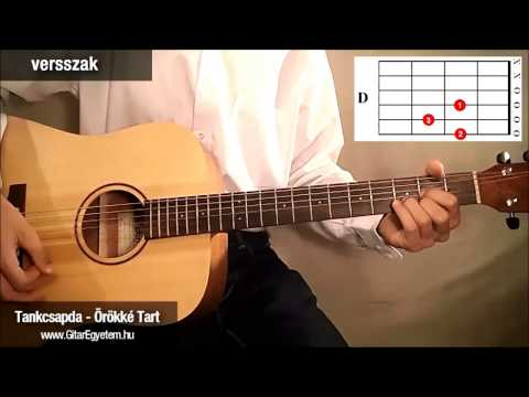 Tankcsapda - Örökké tart gitáron (részlet) - Gitarozom.com letöltés