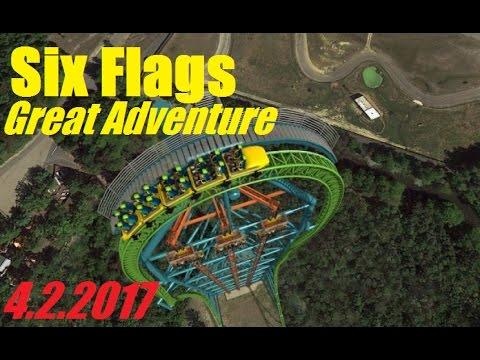 Six Flags GAdv Vlog - $15 Flash Pass?! + Safari Off-Road in the Rain