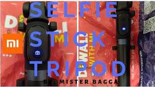 XIAOMI Bluetooth Tripod Selfie Stick | Rs 990 | Mi Selfie stick Tripod | Tech Video | Mister Bagga