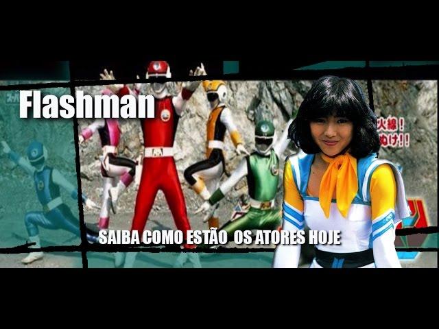Flashman - SAIBA COMO ESTÃO  OS ATORES HOJE
