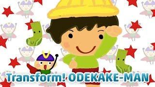 Transform! ODEKAKE-MAN | TOKIOHEIDI TOKIOHEIDI Kids provides Kids S...