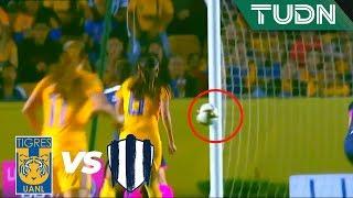 ¡Al poste! Se salvan las rayadas   Tigres 1 - 0 Rayadas   Liga MX Femenil - Final - AP 19   TUDN