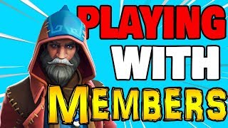 🔴 PRO XBOX PLAYER (Playing W/Members) Fortnite Live Stream Xbox one