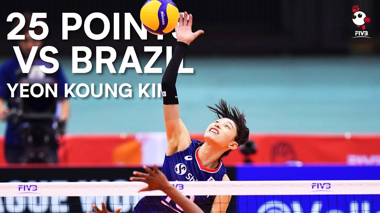 There's no stopping Yeon Koung Kim! | Women's Volleyball World Cup 2019