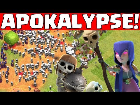 ZOMBIE APOKALYPSE in Clash of Clans! || Let's Play CoC [Deutsch German]