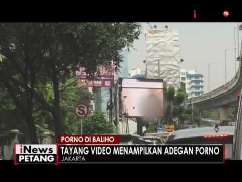 Aduh, sebuah Video Tron di Jaksel menayangkan video porno - iNews Petang 30/09