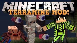 Minecraft: ТЕРРАРИЯ! (Новые мобы, Боссы и тд) Обзор модов [TerraMine]