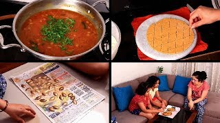Hubby ne diya BIG GIFT | Simple dinner routine | Indian mom evening to night routine |Indianvlogger