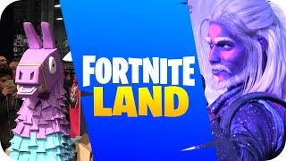 FORTNITE'S ATTRACTIONPARK IN REAL LIFE
