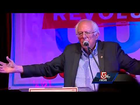 Bernie Sanders stumps for candidates in Mass.