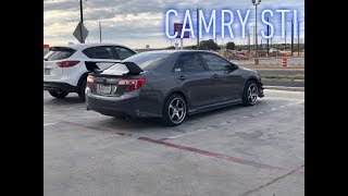 Overview of my car (tour of my Camry Sti)