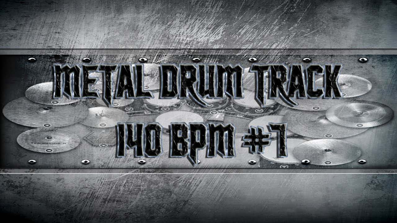 heavy metal drum track 140 bpm remix hq hd youtube. Black Bedroom Furniture Sets. Home Design Ideas
