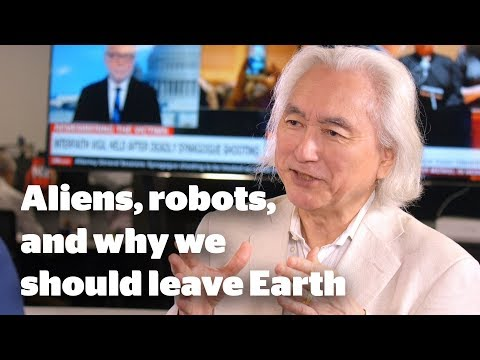 Michio Kaku On Aliens, Robots And Leaving Earth | Nzherald.co.nz