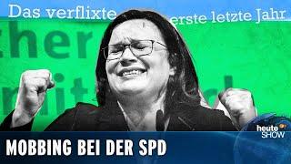 Andrea Nahles wirft hin. Die SPD muss endlich raus aus der Groko!