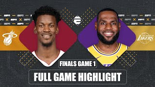 Miami Heat vs. Los Angeles Lakers [GAME 1 HIGHLIGHTS] | 2020 NBA Finals