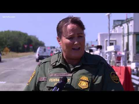 First woman to lead Border Patrol visits most active sector for first time