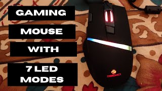 Zebronics Zeb - Tempest USB Gaming Mouse Unboxing Review Best Gaming Mouse Under 1000