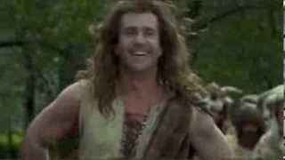 Braveheart - As It Matters In Battle (Rock Throwing Scene Contest, Braveheart Movie Rock)