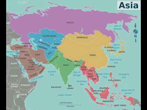 World Geography - Asia