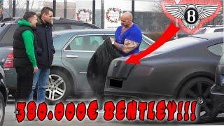 AUTO ANGEFAHREN PRANK XXL!!! (+380.000€ BENTLEY) | PvP