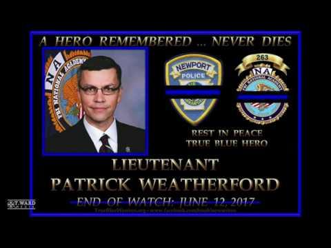 T. Ward Media Honors Lt. Patrick Weatherford