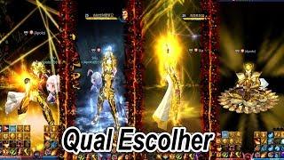 Saint Seiya Online! Todos os Ataques Especiais Das 12 Armaduras De Ouro Mostrando Explicando Em CDZ