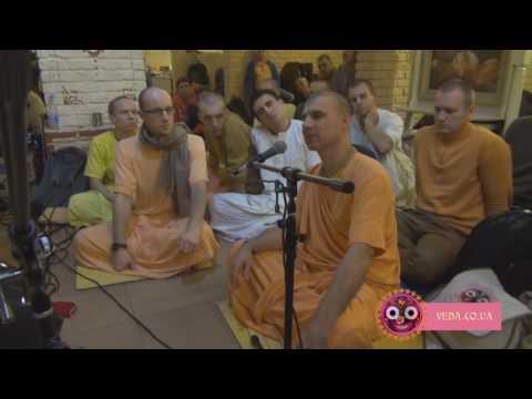Бхакти Расаяна Сагара Свами - ШБ 7.9.18 Настройка на чистое пение Святого Имени