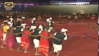 Nirman Youth Club D.N.H Silvassa Represent Tarpa Dance National Games 2015