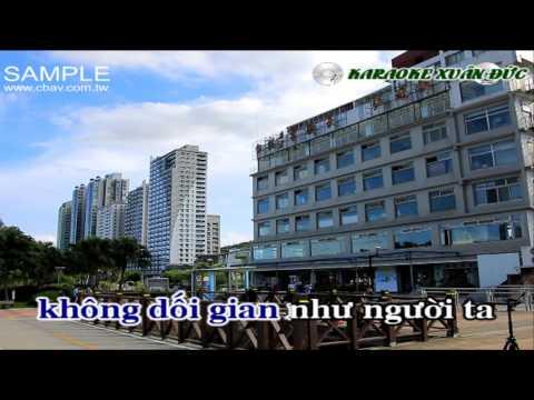 [Karaoke Nhạc sống HD] Nghèo mà có tình Beat organ