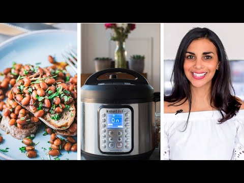 HOW TO COOK BEANS IN THE INSTANT POT
