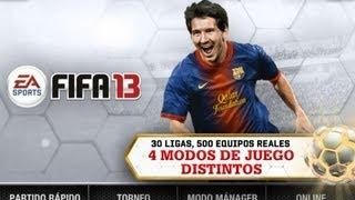 FIFA 13 Gameplay HD iPad - iPad 2 - New iPad - iPhone 5