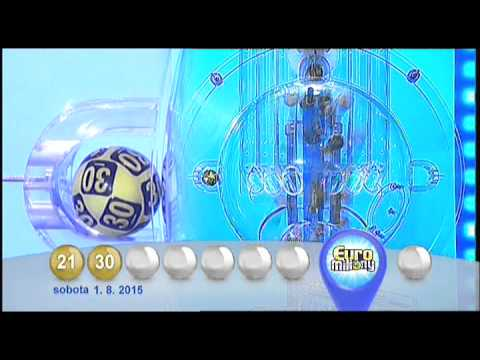 Euromiliony - 1.8. 2015