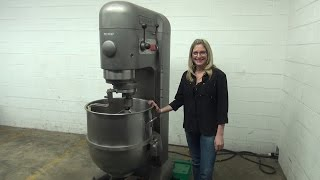 Hobart 140 Quart Double Planetary Dough Mixer Demonstration