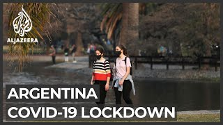 Argentina COVID-19 infection rate still rising despite lockdown